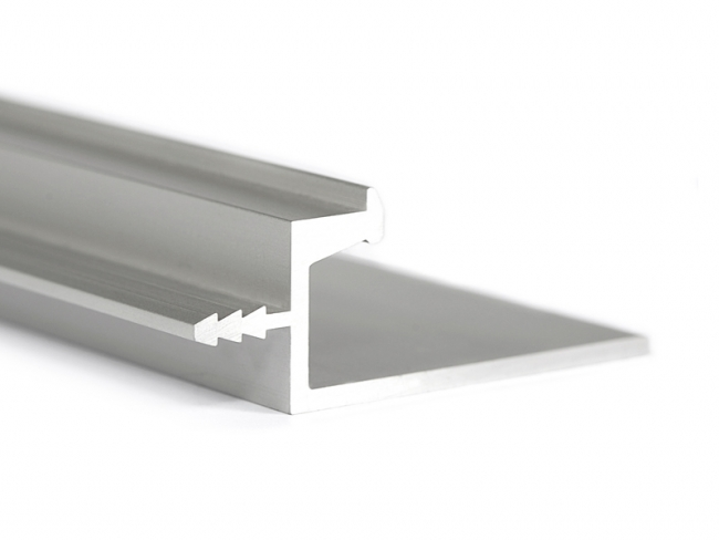 Aluminum Extruded Handle Piano Aluminum Glass Cabinet Doors