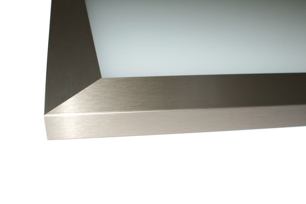 We provide many stainless steel cabinet door options.