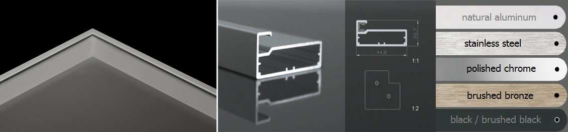 Frame Glass Cabinet Doors