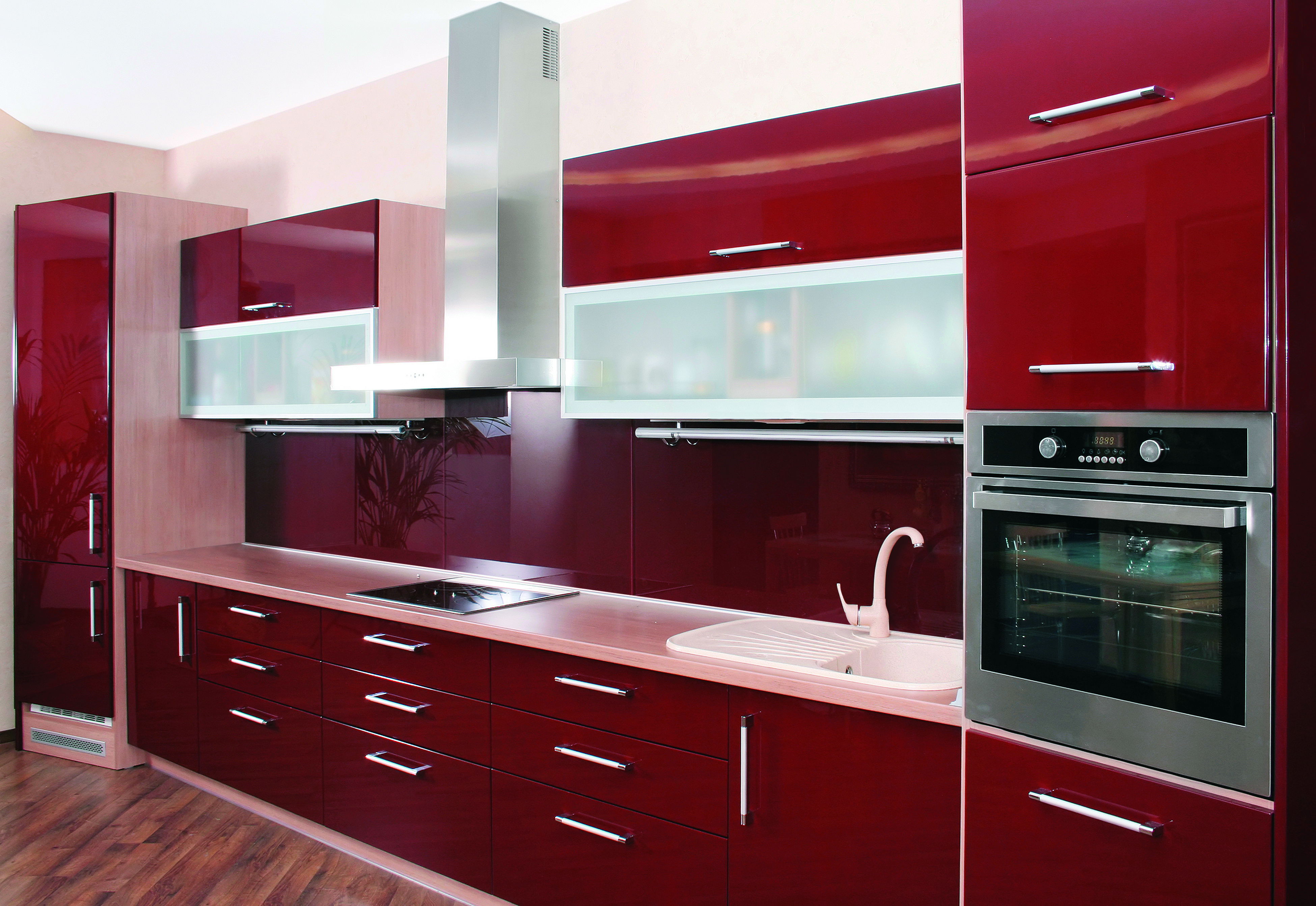 Modern Glass Kitchen Cabinet Doors  Aluminum Glass Cabinet Doors