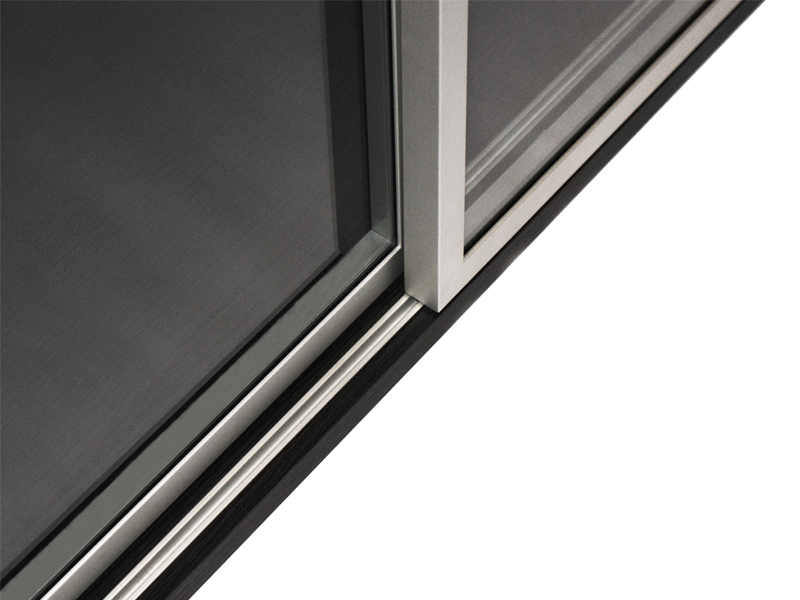 Sliding Door Systems Aluminum Glass Cabinet Doors