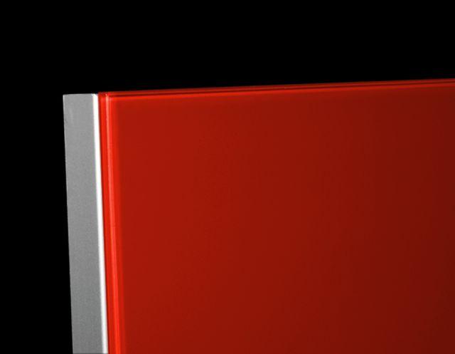 Frameless Aluminum Furniture Front Imola Aluminum Glass Cabinet Doors