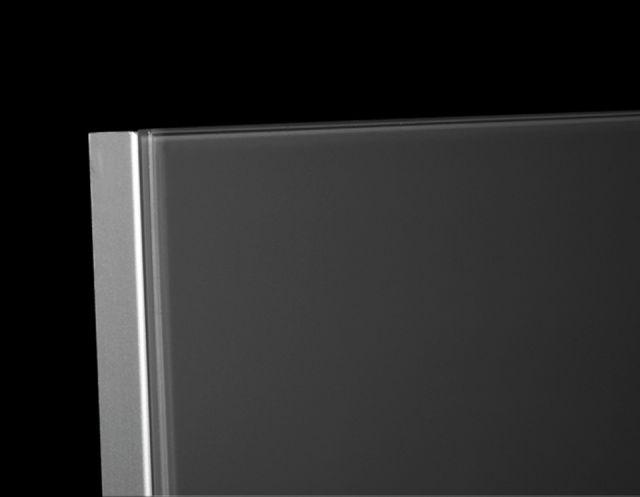 Frameless Aluminum Furniture Front Imola Aluminum Glass Cabinet