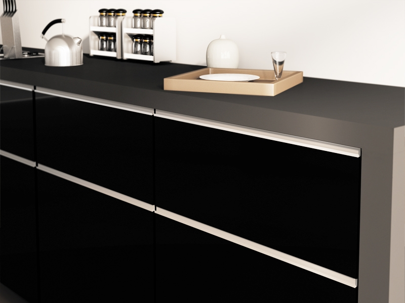 Lacquered Kitchen Cabinet Doors