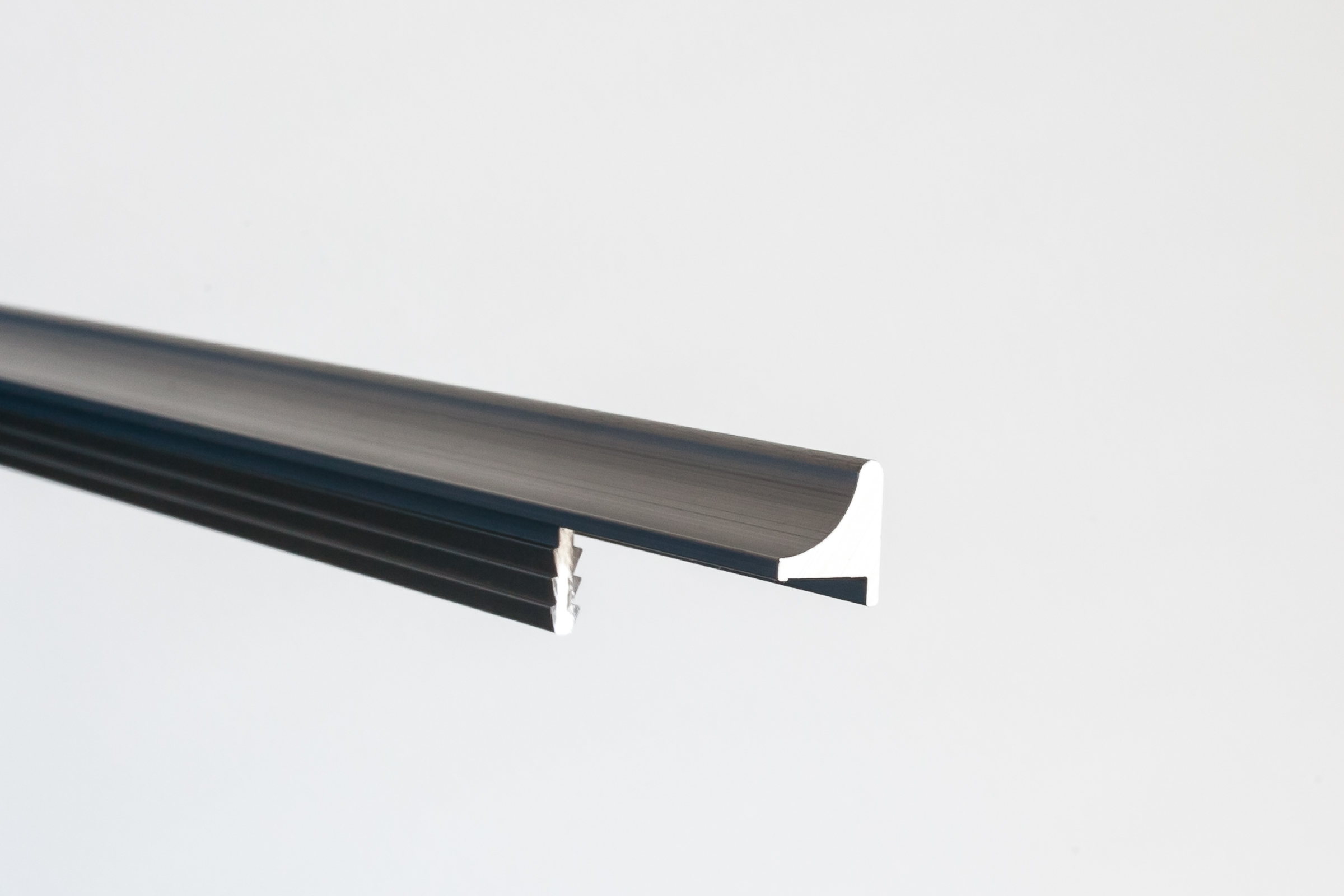Aluminum Extruded Handle Livorno 171 Aluminum Glass