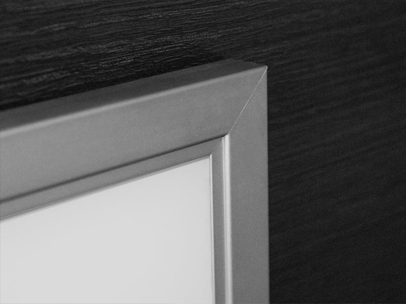 Aluminum Frame Rocca Aluminum Glass Cabinet Doors