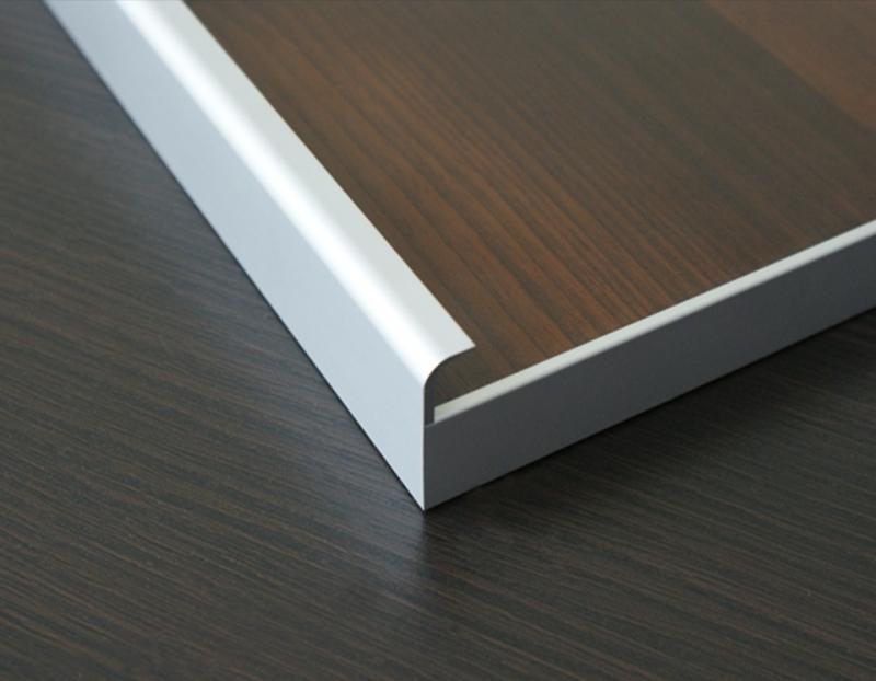 Aluminum Extruded Handles Aluminum Glass Cabinet Doors