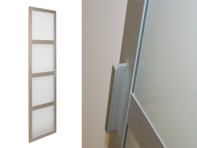 Aluminium Framed Glass Kitchen Doors