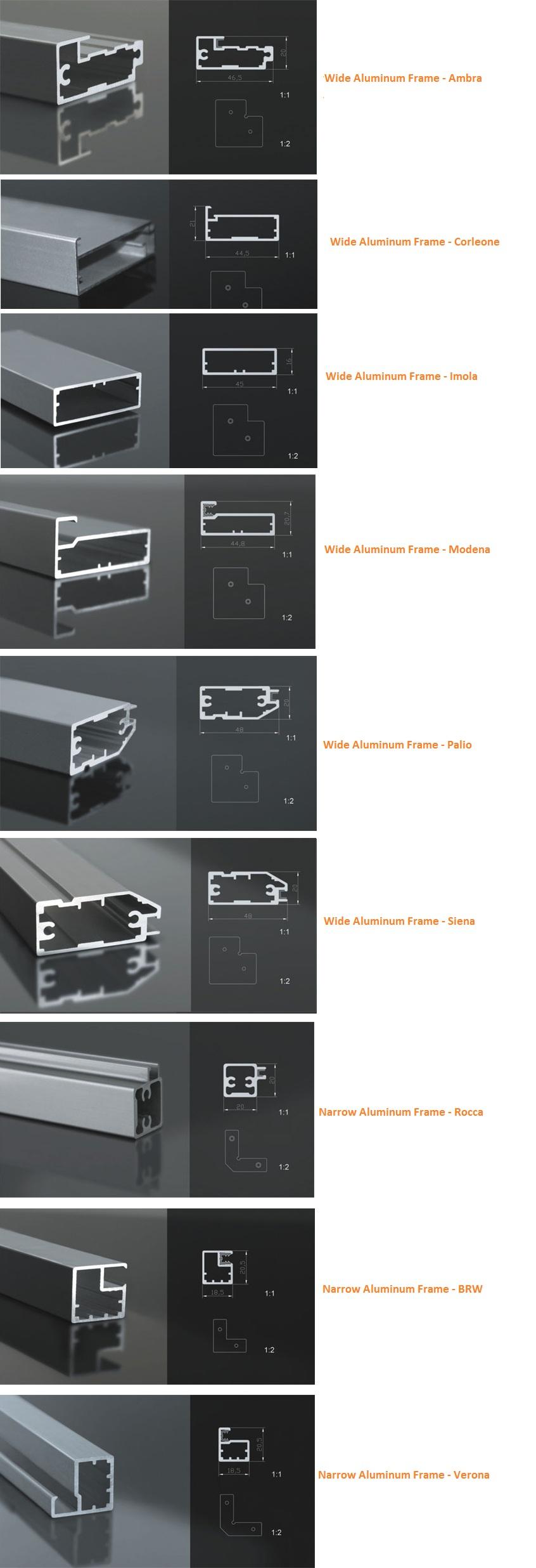 Aluminum Profiles  sc 1 st  Aluminum Glass Cabinet Doors & Aluminum Extrusions | Aluminum Profiles « Aluminum Glass Cabinet Doors