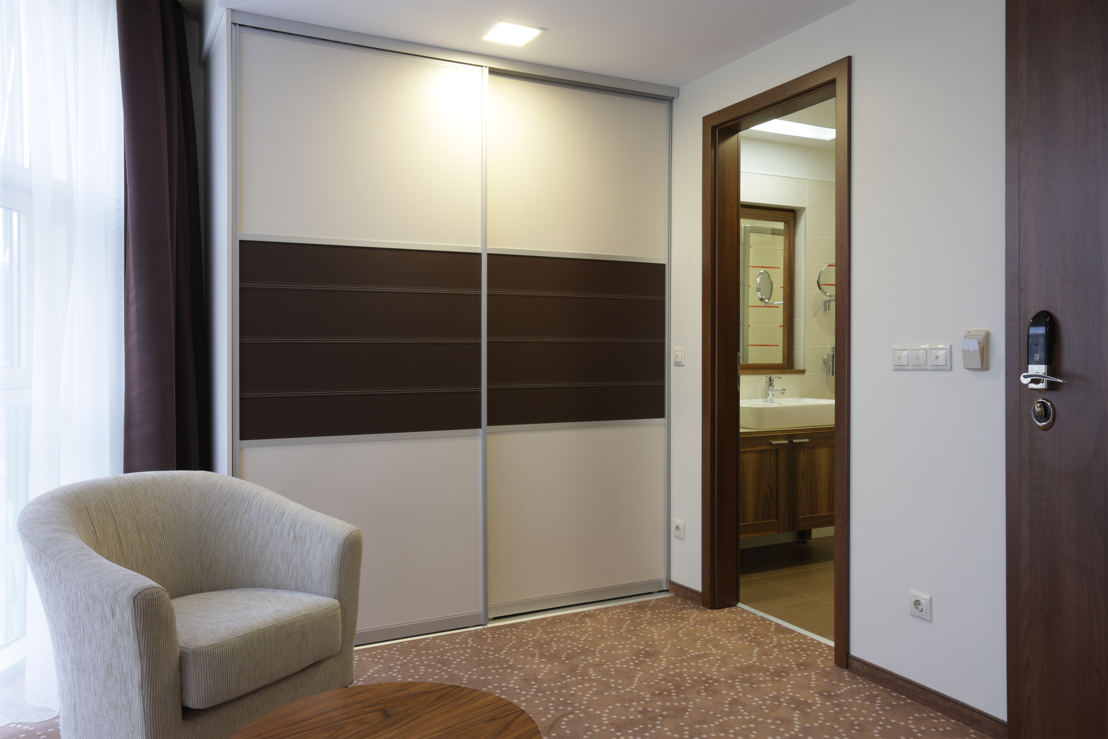 In Out Drive System Closet Doors