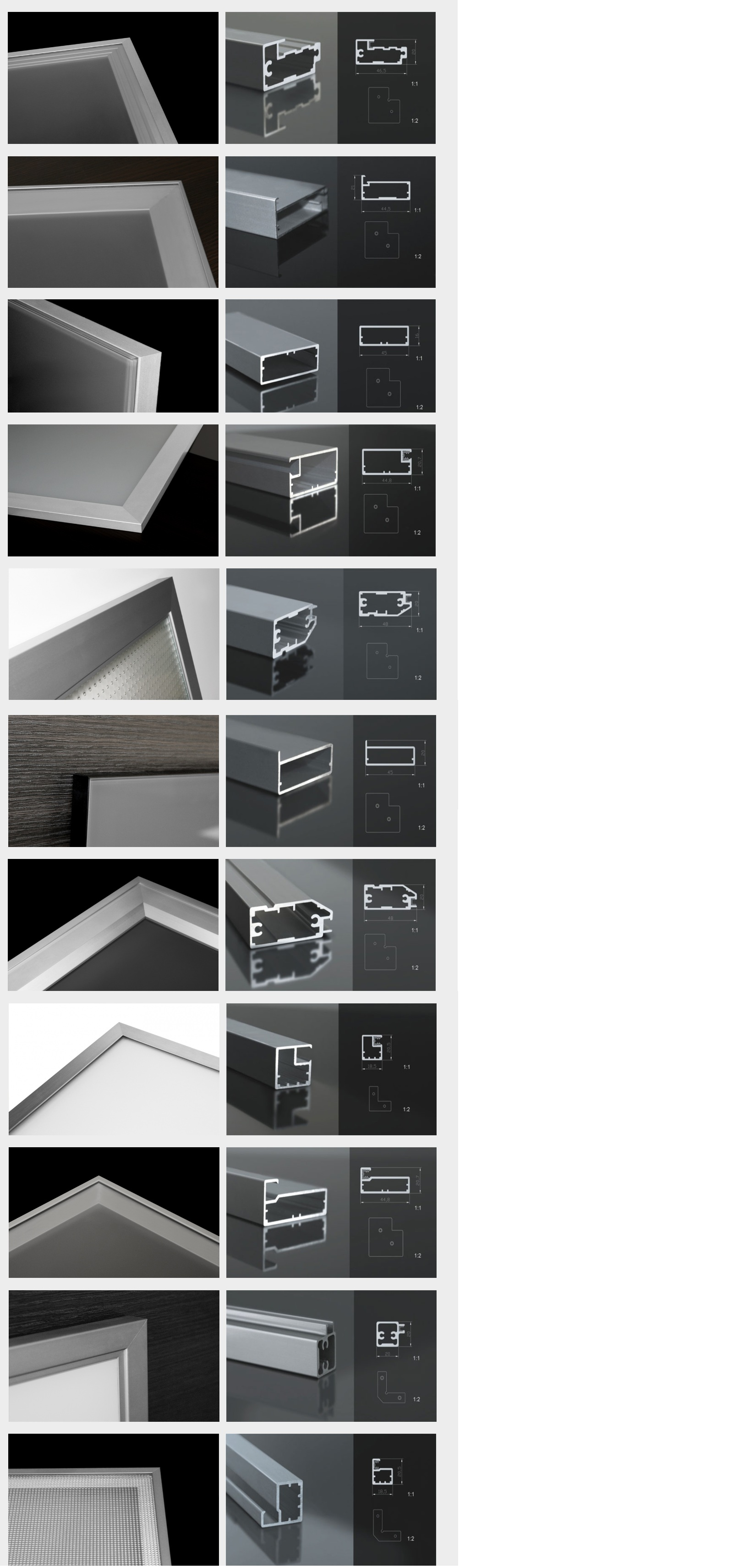 Metal Frame Kitchen Cabinet Doors With Glass Aluminum Cabinet