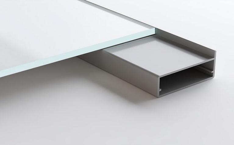 Delicieux PISA Aluminum Frame Glass Cabinet Doors