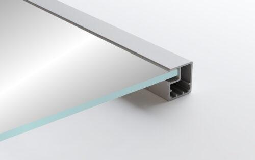 Aluminum Frame Glass Cabinet Doors BRW