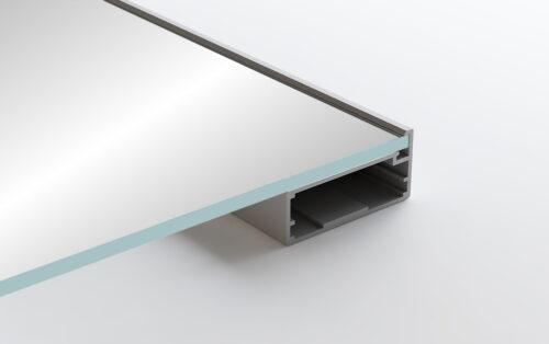 Aluminum Frame Glass Cabinet Doors Corleone