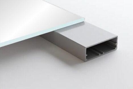 Aluminum Frame Glass Cabinet Doors Imola
