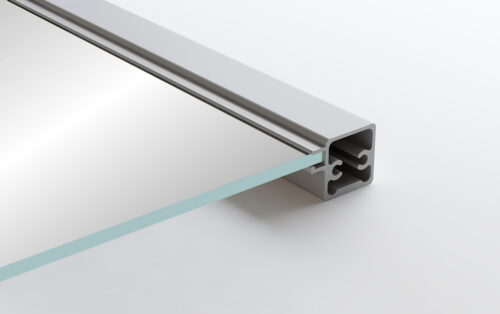 Aluminum Frame Glass Cabinet Doors Rocca