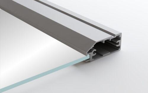 Aluminum Frame Glass Cabinet Doors Siena
