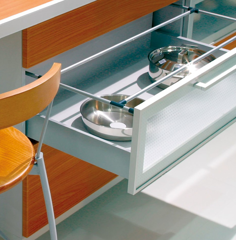 Metal Framed Glass Kitchen Cabinet Doors Drawers Aluminum Glass