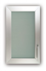 Classic Frosted Glass Cabinet Doors Design Ideas