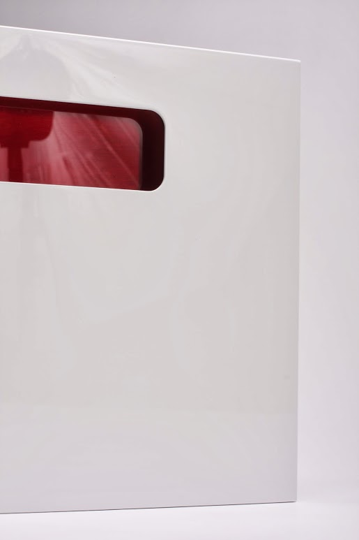 High Gloss Laminate Cabinet Doors: Cortina « Aluminum Glass Cabinet