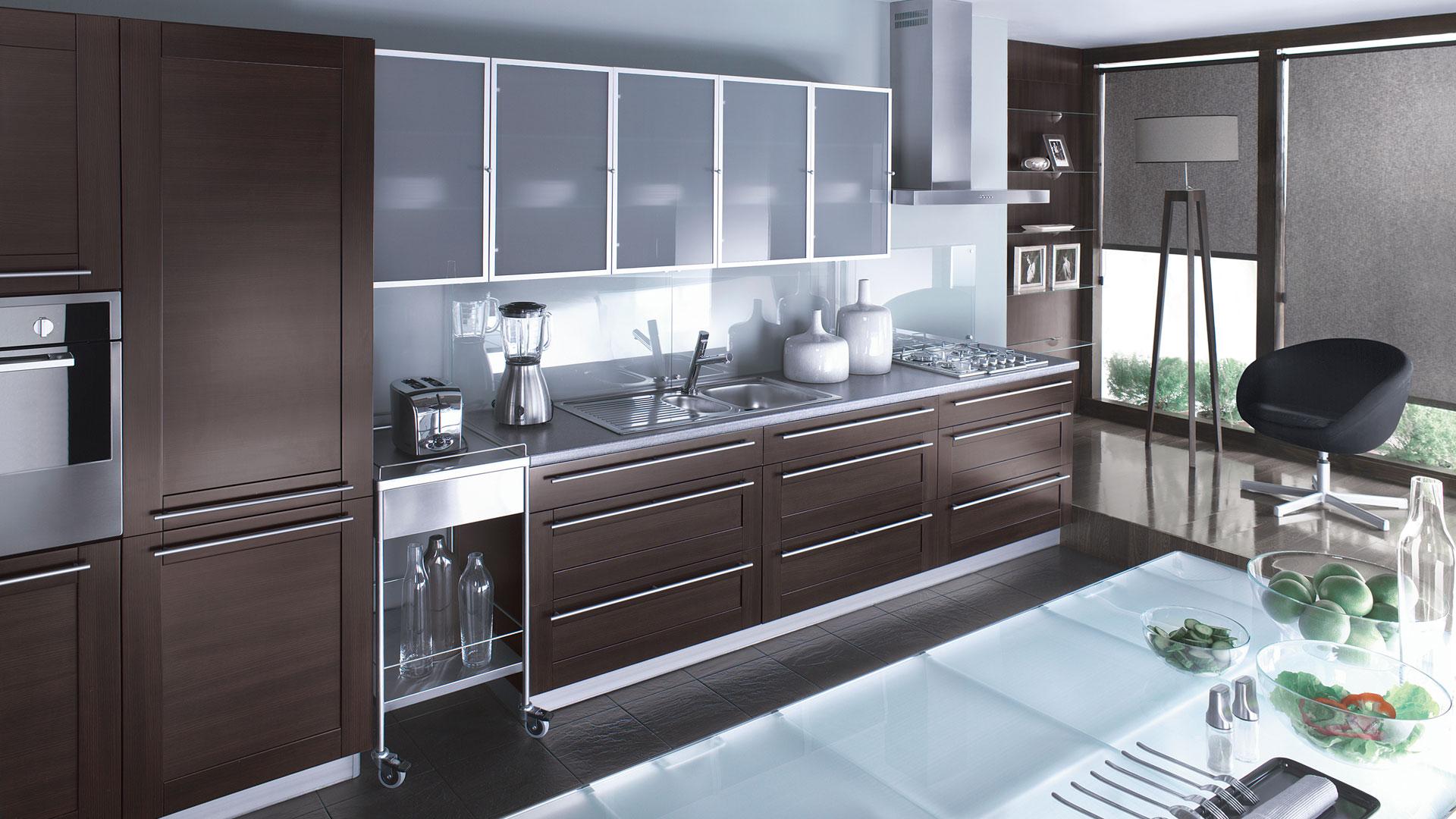 Residential 171 Aluminum Glass Cabinet Doors