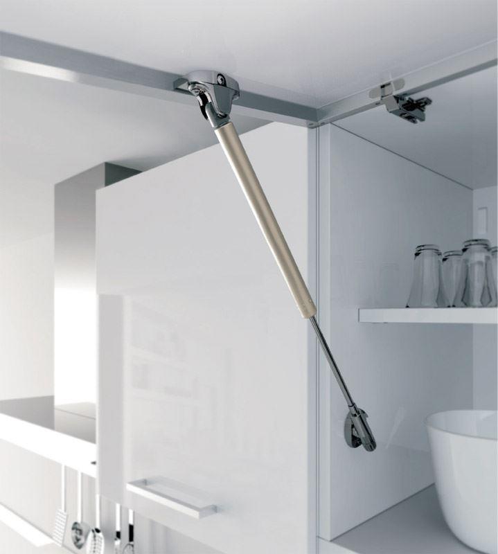 Hydraulic Lift Up System 171 Aluminum Glass Cabinet Doors