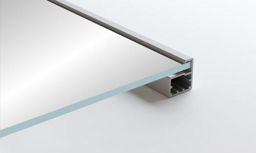 Aluminum Frame Glass Cabinet Doors Verona