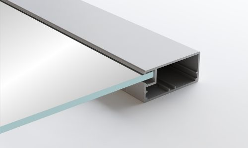 Aluminum Frame Glass Cabinet Doors Vivaro